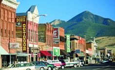 Livingston, Montana...home to the Talcotts, my mom's family. Loved spending summers there.