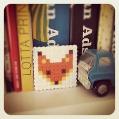 Little fox hama beads by Dandelion and Olive