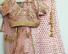 29c9555f5b Ivory Color Embroidered Lehenga Choli Dupatta Custom Made Indian Pakistani  Designer Lengha for Girls exclusive wedding party wear for women