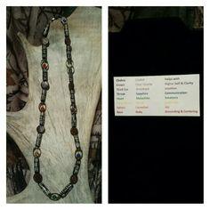 Chakra Balancing Necklace Chakra Crystals, Chakra Balancing, Malachite, Crystal Healing, Amethyst, Necklaces, Chain, Jewelry, Jewels