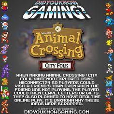 Did You Know Gaming? Animal Crossing: City Folk.