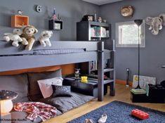 Click Interiores   Quarto de Criança com Teto Alto