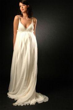 Maternity Wedding Dress.