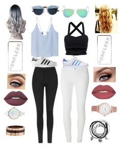"""""""Best friends"""" by michelle-martinez890 on Polyvore featuring MANGO, Topshop, Dorothy Perkins, Christian Dior, adidas, River Island, Smashbox, Lime Crime, Cartier and Larsson & Jennings"""