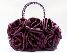 Super Cute 3D Roses Bridal Accessories Satin Handbag Evening Purse Mini Bag Wedding Clutch Holiday Birthday Gift Sil005-4 Colors Available (purple) miss zhuzhu,http://www.amazon.com/dp/B009SS4PEM/ref=cm_sw_r_pi_dp_kKXyrbA0D2C34486