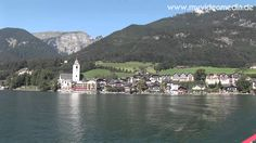 St Wolfgang the tourist center of the Salzkammergut region on the northern shore of the Wolfgangsee lake.  -