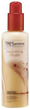 The BEST detangeler and conditioner I have ever used.  TRESemme Nourishing Rituals Liquid Gold Shine Therapy - Free Shipping