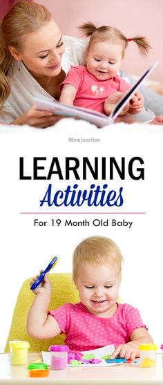 Learning Activities For 19 Month Old Baby: If you are finding it hard to keep your toddler entertained, read on to find some fun activities for 19 month old: