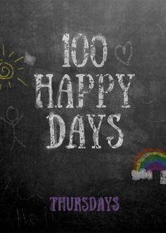 A BRAND NEW link up for all bloggers! Join us for the 100 Happy Days Link Up each THURSDAY! Link up your favorite post & share some blog love.
