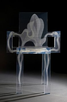 Ghost chair/By Studio Grift