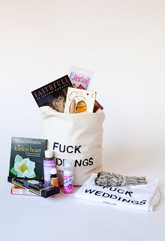 Fuck Weddings Totes