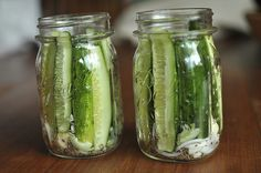 Food in Jars. Awesome site for canning and preserving. Here it's dill pickles.