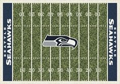 Seattle Seahawks Home Field Rug - Nfl Team Rugs - Milliken - Rugs - Seattle Seahawks American Carpet Wholesalers $89.50