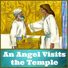 Bible Lessons for Kids: An Angel Visits the Temple