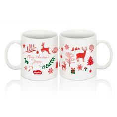 Taza de Navidad personalizada. http://www.miyakao.com/es/ceramica/tazas.html
