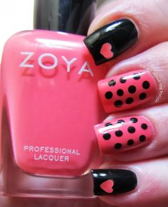 Simple Valentine's Design - It's All About the Polish