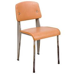 Standard Chair by Jean Prouvé for Les Ateliers de Jean Prouvé, circa 1950
