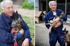 """""""I had no choice but to stay,"""" Naoto Matsumura said. """"I couldn't leave the animals behind."""""""