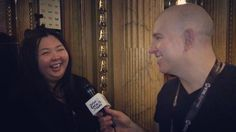 I interview fellow journalist @toronto_diary on #TheShapeOfWater #TIFF17 red carpet! Id heard her telling celebrities to Say hello to your Chinese friends! Turns out she has 200000 of them following her posts on WeChat where she gives Toronto news and tips to Chinese speakers. I should start saying hello to my Chinese friends!   #Toronto #China #Chinese #celebrity #Hollywood #entertainmentnews I am a: #celebrityinterviewer #journalist #entertainmentreporter #radiohost #tvhost #comedian…