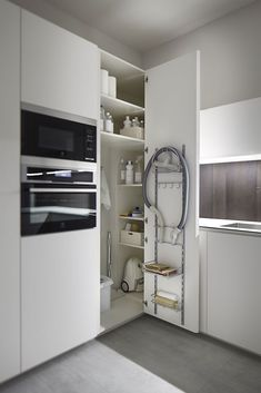 Do you want to have an IKEA kitchen design for your home? Every kitchen should have a cupboard for food storage or cooking utensils. So also with IKEA kitchen design. Here are 70 IKEA Kitchen Design Ideas in our opinion. Hopefully inspired and enjoy! Kitchen Corner Cupboard, Corner Pantry, Kitchen Storage, Cabinet Storage, Corner Storage, Small Storage, Kitchen Organization, Storage Shelving, Table Storage