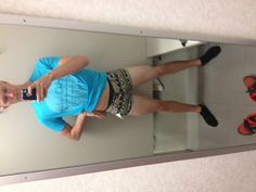 Tight shorts that's Wat