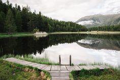lej da staz, graubunden, Switzerland, Engadin St Moritz