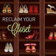 How To Reclaim Your Closet and Organize Your Shoes - from our blog, Footnotes
