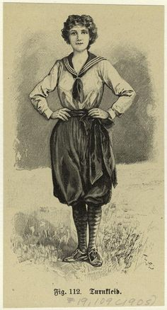 Turnkleid. (1905)