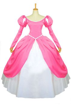 PLUS SIZE Disney Princess Little Mermaid Ariel Dress Costume adult SIZE 18-28