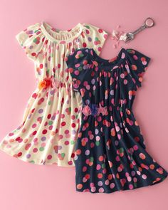 Polka-Dotty Party Dress by Morgan & Milo | Garnet Hill Kids