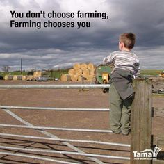 Farming chooses you Farm Life Quotes, Farmer Quotes, Farm Sayings, Country Girl Life, Country Farm, Country Girls, Way Of Life, Life Is Good, Ag Quote