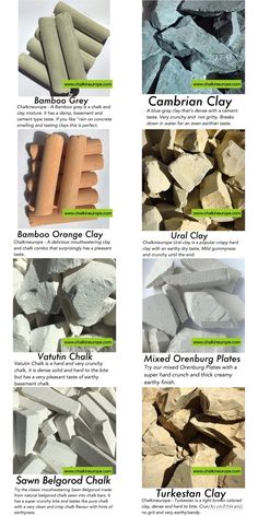 There are numerous different types of edible clay accessible within the world which can be eaten in small amounts. Such as Kaolin clay, Red clay chunks, Bentonite clay and many more. Edible Clay, Jeremy Clarkson, Slate Stone, Black Clay, Bentonite Clay, Ceramic Flowers, Natural Products, Geology, Earthy