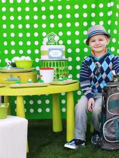 If your child is into golf than this is perfect for you!