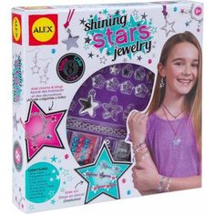 Alex Toys Craft Shining Stars Jewelry, Multicolor