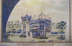 Le Pavillon Bleu in the Paris Exhibition, 1900. architect: René Dulong; interiors by Gustave Serrurier.Bovy