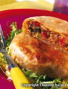 Seafood moroccan pie (Pastillas aux fruits de mer)