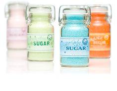 gourmet sugar packaging design