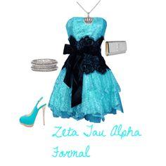 Zeta Tau Alpha Formal, created by all-sororities on Polyvore