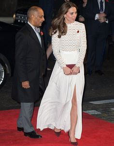 Catherine, Duchess of Cambridge attend the Recovery Street Film Festival