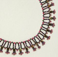 Sandry Halpenny - Bugels, crystals & Tilas Necklace  ~ Seed Bead Tutorials