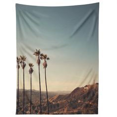 Catherine McDonald Hollywood Hills Tapestry   DENY Designs Home Accessories