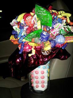 Lollipop bouquet Lollipop Bouquet, Organization, Crafts, Home Decor, Getting Organized, Organisation, Manualidades, Decoration Home, Room Decor