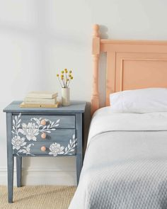 Give an old piece of furniture a beautiful new look with vintage decor paint.