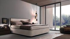 Presotto brand / made in Italy / beige elegant bed / modern bedroom / international online store EUROOO.COM / Компания Presotto / бежевая элегантная кровать / мебель для спальни / сделано в Италии / международный онлайн-магазин EUROOO.RU