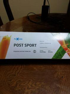 FuXion Post Sport es una bebida energética reparadora natural