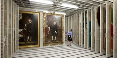 Many museums and galleries maintain vast storage facilities to store works (Credit: picture courtesy of Montel)