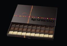 Nespresso chocolates. Personaliza tu cafetera Nespresso. Disponems de más de 200 vinilos decorativos. shop.decofi.com