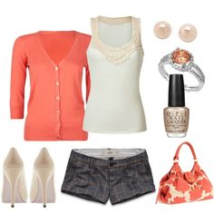 Outfit -- with flip flops