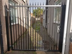 Security Gates, Entrance, Night, Safety Gates, Entryway, Door Entry