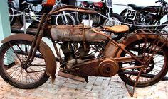 Antique Harley Davidson by Rennett Stowe, via Flickr
